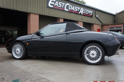 AXE EX3 alloy wheels on an Alfa