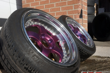 Ceramic Polished Alloy Wheels