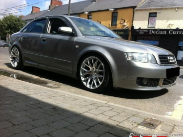 "Audi A4 19"" Boston Alloy Wheels"