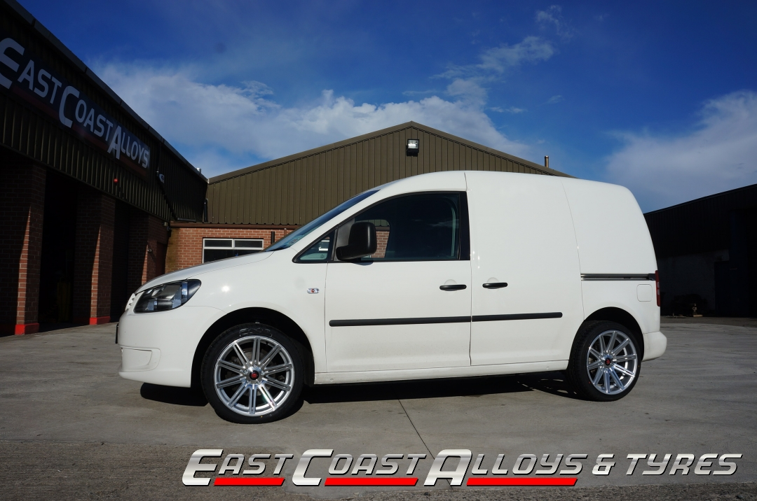 Alloy wheels to fit VW caddy at East Coast Alloys